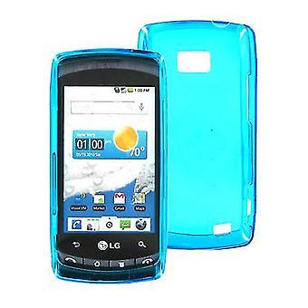 OEM Verizon LG Ally VS740 Snap On Case (Blue) (Bulk Packaging)