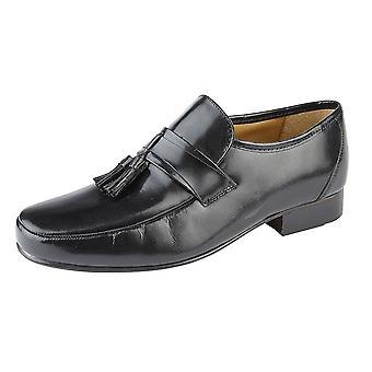 Kensington Classics Mens Kid Leather Moccasins