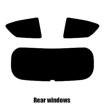 Pre cut fönstret nyans - Kia Picanto 3-dörrars halvkombi - 2011 till 2016 - bakre windows