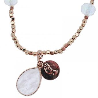 Bcharmd Nia Whita Quartz Pendant Bracelet