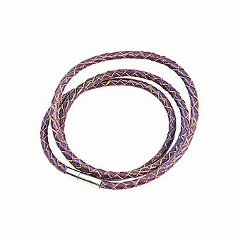 Armband Leder Slim-Purple F2821PU04