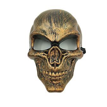 Skull purge maska maskovaný strana Halloween party-zlato