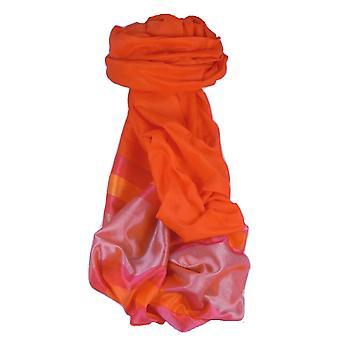 Varanasi Border Prime Silk Long Scarf Heritage Ganguly 912 by Pashmina & Silk