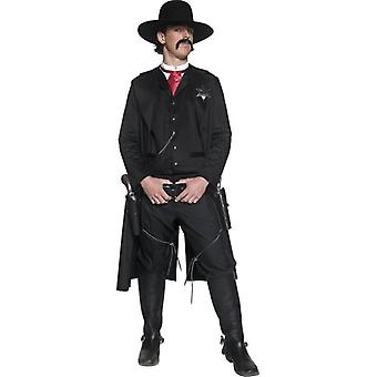 Authentic Western Sheriff Costume, Chest 38