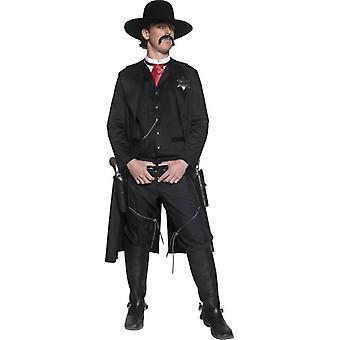 """Autentisk Western Sheriff drakt, brystet 38""""-40"""", Ben Inseam 32.75"""""""