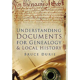 Compreensão de documentos para a genealogia e história Local por Bruce Durie