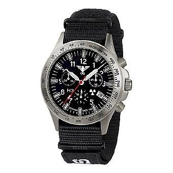 KHS watches mens watch platoon titanium chronograph KHS. PTC. NXT7