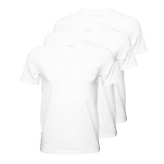 BOSS 3-Pack Regular-Fit Crew-Neck T-Shirts, weiß