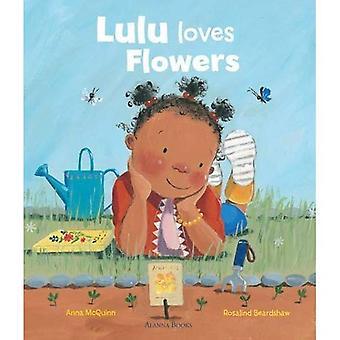 Lulu elsker blomster