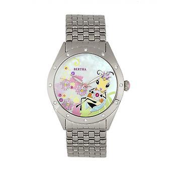 ベルタ エリカ モップ ブレスレット腕時計 - シルバー