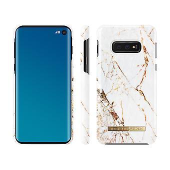 iDeal de Suecia Samsung Galaxy S10e-Carrara Oro