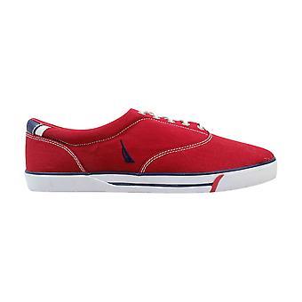 Nautica Canvas CVO Red  Men's NM125R Size 13 Medium
