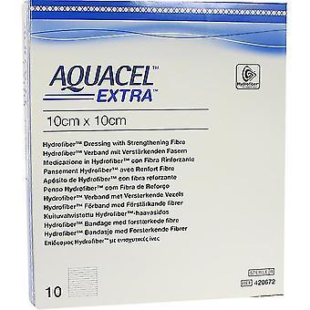 AQUACEL EXTRA DRESSING 10X10CM 420672 10