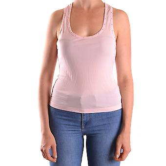 John Richmond Ezbc082103 Women's Pink Viscose Top