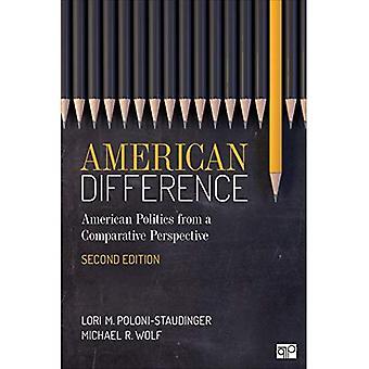 Amerikanische Unterschied: Ein Leitfaden zur amerikanischen Politik in vergleichender Perspektive