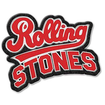 The Rolling Stones Patch Team band Logo cut out new Official Iron on