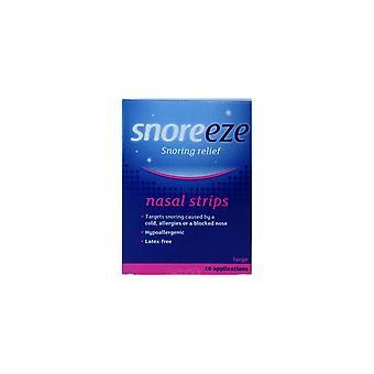 Snoreeze Nasal strimler store 10