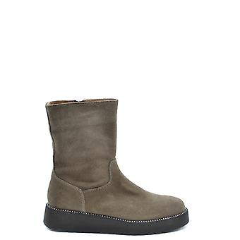 Liu Jo Ezbc086157 Women's Brown Suede Boots