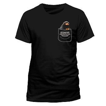 Mannen misdaden van Grindelwald Niffler in mijn Pocket T-shirt