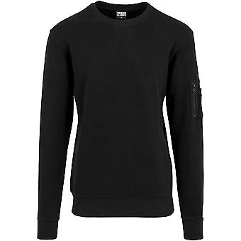 Urban Classics Men's Sweatshirt Interlock Bomber Crew