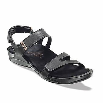 Aetrex Womens Paraiso Leather Open Toe Casual Strappy Sandals