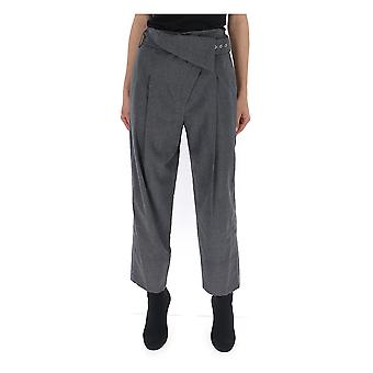 3.1 Phillip Lim 5442wfbme048 Women's Grey Wool Pants