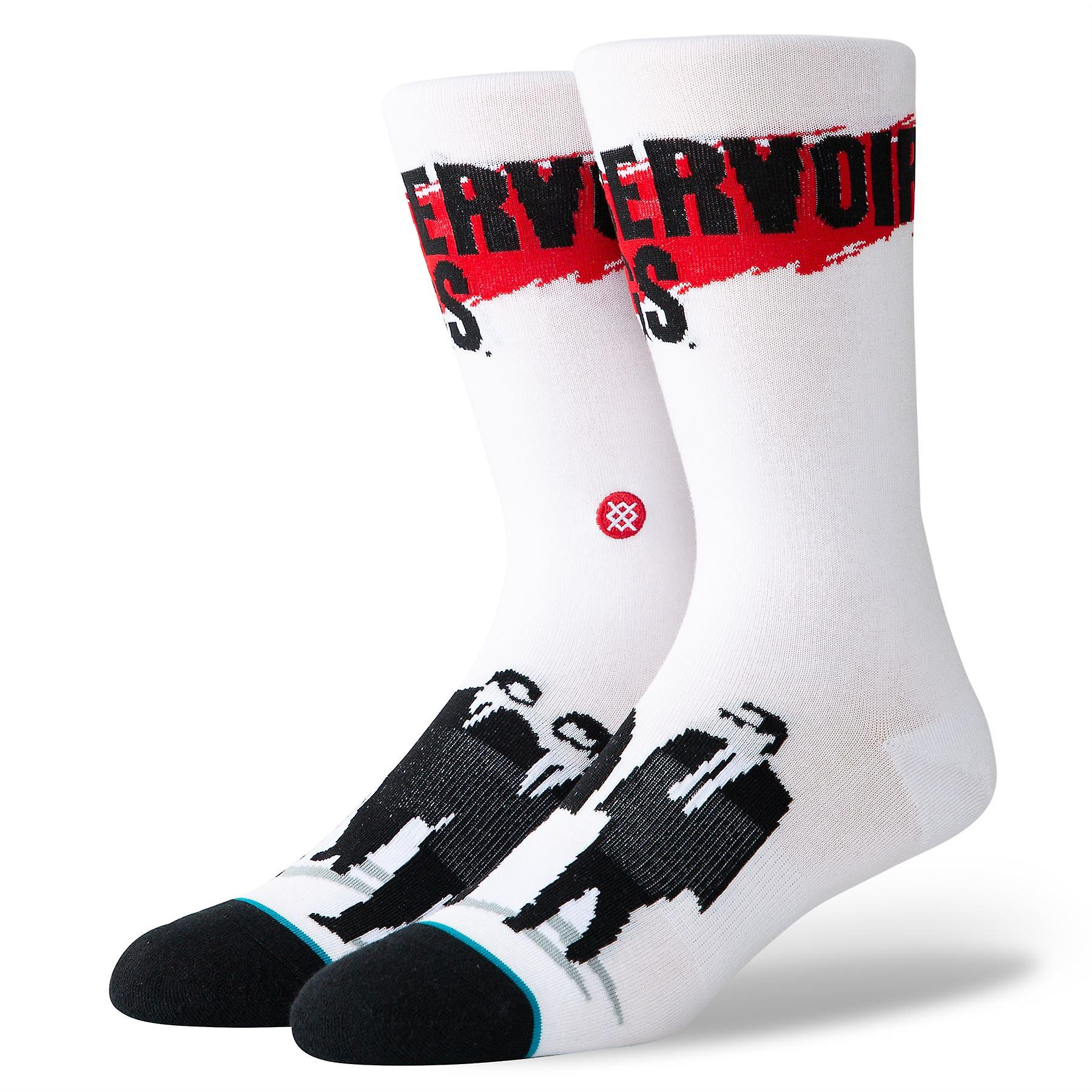 Stance Foundation Mens Socks ~ Reservoir Dogs white (size L)