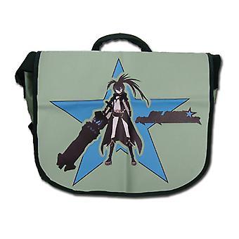 Messenger Bag Black Rock Shooter Black Rock Shooter Hood Pose ge11064