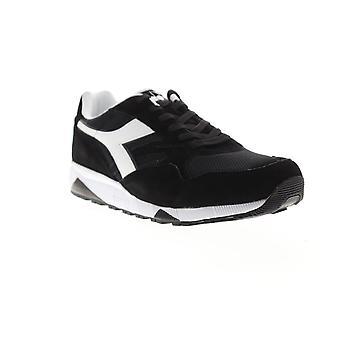Diadora N902 S  Mens Black Suede Mesh Casual Low Top Sneakers Shoes