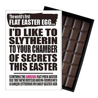 Funny Flat Easter Egg Chocolate Harry Potter Inspired Gift Women Girlfriend UK EIYF144