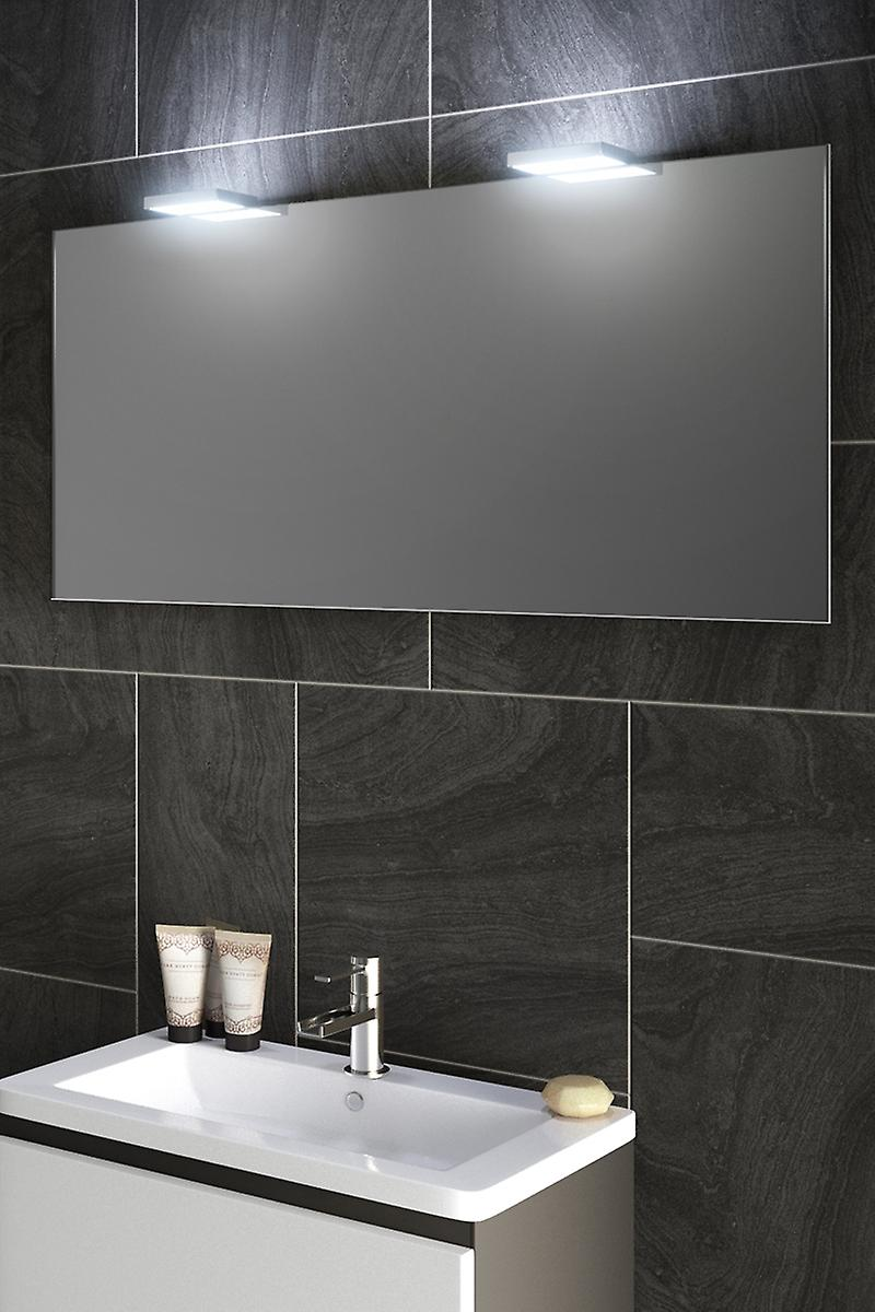 Perior Audio Top Light Mirror with Sensor and Shaver Socket k491aud