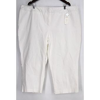 Charter Club Plus Pants Pants Embellished S White Womens