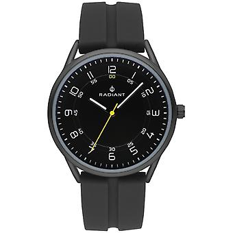 Radiant Taycan Quartz Analog Man Watch with RA517604 Rubber Bracelet