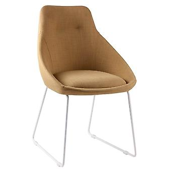 Wellindal Upholstered Chair Metal Alba (Furniture , Chairs , Chairs)