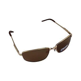Men's Sunglasses Polaroid Rectangular - Brown with free brillenkokerS305_3