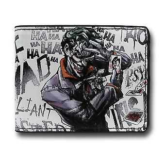 Joker Cards HA HA Men-apos;s Bi-Fold Portefeuille