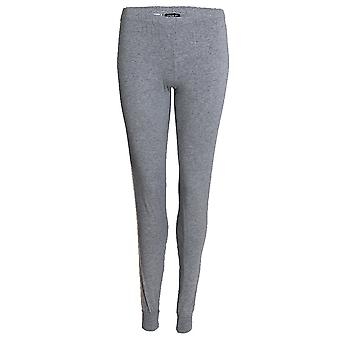 Emporio Armani Women Visibility Sparkle Logo Lounge Pant With Cuffs, Grey, XLarge