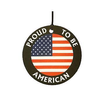 Orgulloso de ser americano ambientador de aire