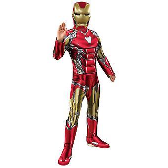 Jongens Iron Man Deluxe kostuum-Avengers: Endgame