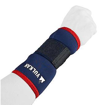 Vulkan Classic Elastic Wrist Sport Infortunio Strap Supporto Blu