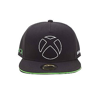 Xbox Baseball Cap Ready To Play Logo new Official Gamer Black Snapback
