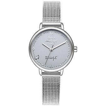 Mr wonderful shine and smile Watch for Women Analog Quartz with Stainless Steel Bracelet WR15200