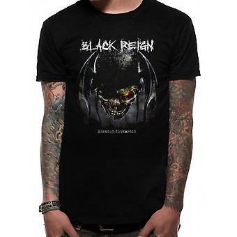 Hævnet Sevenfold-sort Reign T-shirt