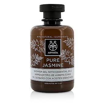 Apivita Pure Jasmine Shower Gel With Essential Oils - 300ml/10.14oz