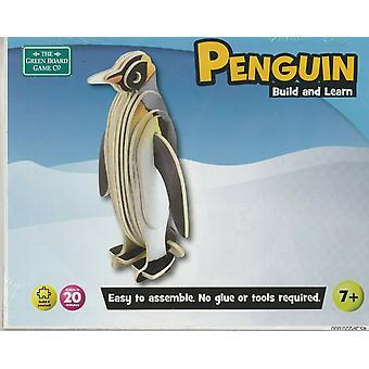 Jeux de plateau vert Penguin Construire et apprendre