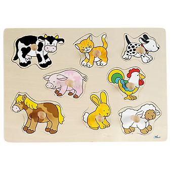 Bubble Puzzle Tiere