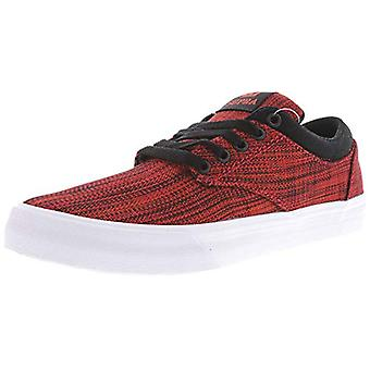 SUPRA Mens chino Canvas Low Top Lace Up Fashion Sneakers
