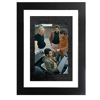 TV Times Bobby Moore And Gang 1970 Framed Print