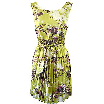 Darling Women-apos;s Floral Piper Pleated Dress M Royaume-Uni 12