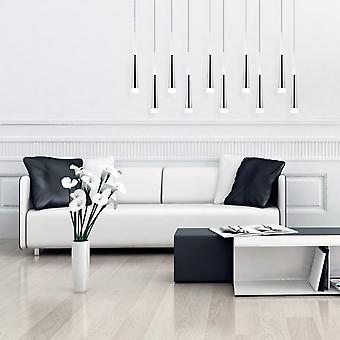 COMET 10 Mini Pendant Lighting Black - LED Hanging Light Fixture for Kitchen Island, Bar, Foyer